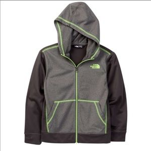 The north face zip up hoodie